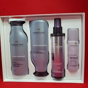 Pureology strength cure holiday kit FOR BLONDES